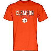 Blue 84 Men's Clemson Tigers Orange T-Shirt