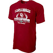 Blue 84 Men's Oklahoma Sooners 2017 NCAA Women's College World Series National Champions T-Shirt
