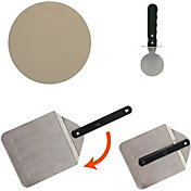 Mr. Bar-B-Q Pizza Stone Grill Set