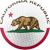 Hedstrom California Flag Rubber Playground Ball