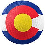 Hedstrom Colorado Flag Rubber Playground Ball