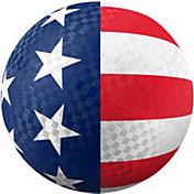 Hedstrom USA Flag Rubber Playground Ball