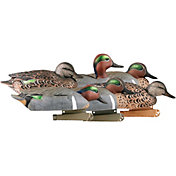 GHG Pre-Rigged Pro-Grade Green-Winged teal Duck Decoys – 6 Pack