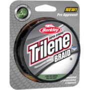 Berkley Trilene Low-Vis Green Braided Fishing Line