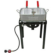 Cajun Injector Double Basket Gas Fryer