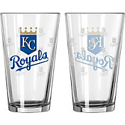 Boelter Kansas City Royals 16oz. Satin Etched Pint Glass