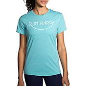 Brooks Women's Run Happy Smile Running T-Shirt