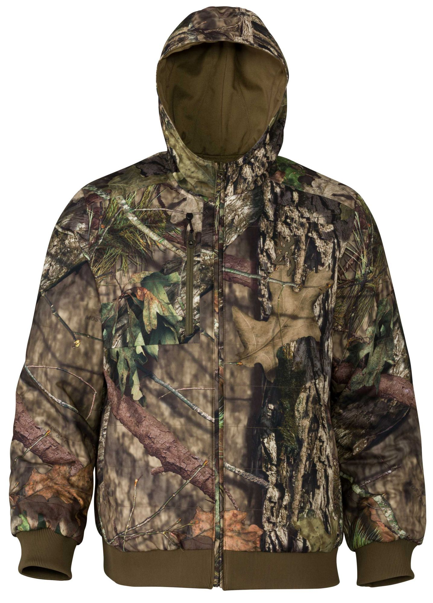 Browning Men's Hell's Canyon Contact Reversible Hunting Jacket, Size: Medium, Green thumbnail