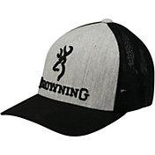 Browning Men's Buckmark Flexfit Mesh Back Hat