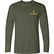 Browning Men's Cross Rifle Shield Long Sleeve Shirt