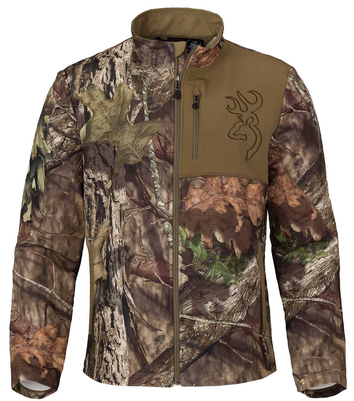 Browning Men's Hell's Canyon Mercury Hunting Jacket, Size: Medium, Mossy Oak Brk-Up Country thumbnail