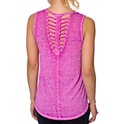 Betsey Johnson Performance Women's Braided Back Cutout Tank Top
