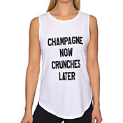 Betsey Johnson Performance Women's Champagne Graphic Muscle Tank Top