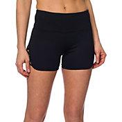 Betsey Johnson Performance Women's Criss Cross Strap Cutout Shorts