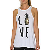 Betsey Johnson Performance Women's Love Racerfront Swing Tank Top