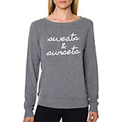 Betsey Johnson Performance Women's Embroidered Logo Lightweight Pullover