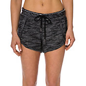 Betsey Johnson Performance Women's Scallop Hem Sweatshorts