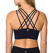 Betsey Johnson Performance Women's Strappy Shoulder Seamless Sports Bra