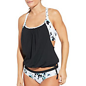 CALIA by Carrie Underwood Women's 2-in-1 Tankini Top