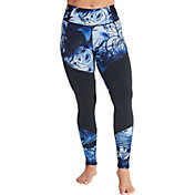 CALIA by Carrie Underwood Women's Printed Color Blocked Leggings