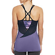 CALIA by Carrie Underwood Women's Support Cross Back Tank Top