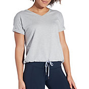 CALIA by Carrie Underwood Women's Effortless Short Sleeve Sweatshirt
