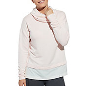 CALIA by Carrie Underwood Women's Effortless Mix Media Hoodie
