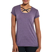 CALIA by Carrie Underwood Women's Front Interest Heather T-Shirt