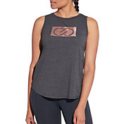 CALIA by Carrie Underwood Women's Flow Logo Graphic Muscle Tank Top