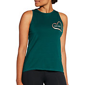 CALIA by Carrie Underwood Women's Flow Loop Back Have Heart Graphic Tank Top