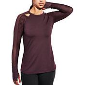 CALIA by Carrie Underwood Women's Mesh Long Sleeve Shirt