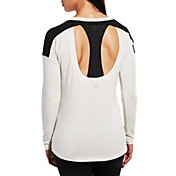 CALIA by Carrie Underwood Women's Mesh Racerback Long Sleeve Shirt