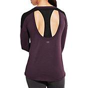 CALIA by Carrie Underwood Women's Mesh Racerback Long Sleeve Shirt