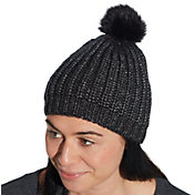 CALIA by Carrie Underwood Women's Metallic Pom Beanie