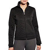 CALIA by Carrie Underwood Women's Limited Edition Fleuria Quilted Layered Jacket