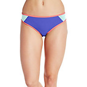 CALIA by Carrie Underwood Women's Color Block Bikini Bottoms