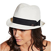 CALIA by Carrie Underwood Women's Straw Fedora Hat