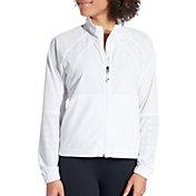 CALIA by Carrie Underwood Women's Woven Full Zip Jacket