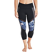 CALIA by Carrie Underwood Women's Ribbed Detail Capris