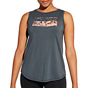 CALIA by Carrie Underwood Women's Flow Graphic Muscle Tank Top