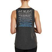 CALIA by Carrie Underwood Women's Flow We Believe Graphic Muscle Tank Top