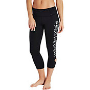 CALIA by Carrie Underwood Women's Laser Cut Capris
