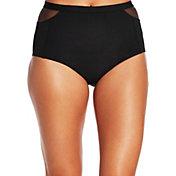 CALIA by Carrie Underwood Women's Mesh Piece High Waist Bikini Bottoms