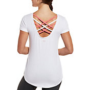 CALIA by Carrie Underwood Women's Rolled Sleeve T-Shirt