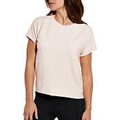 CALIA by Carrie Underwood Women's Effortless Fleece Crewneck T-Shirt
