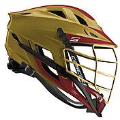 Cascade Custom S Lacrosse Helmet w/ Gold Pearl Mask