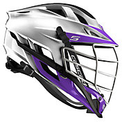 Cascade Custom S Platinum Lacrosse Helmet w/ White Pearl Mask
