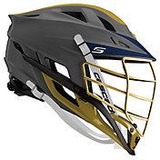 Cascade Custom S Matte Lacrosse Helmet w/ Gold Pearl Mask