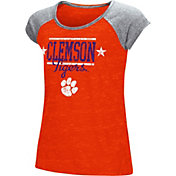 Colosseum Girls' Clemson Tigers Orange Sprint T-Shirt