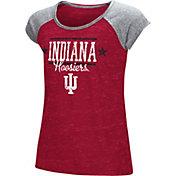 Colosseum Girls' Indiana Hoosiers Crimson Sprint T-Shirt